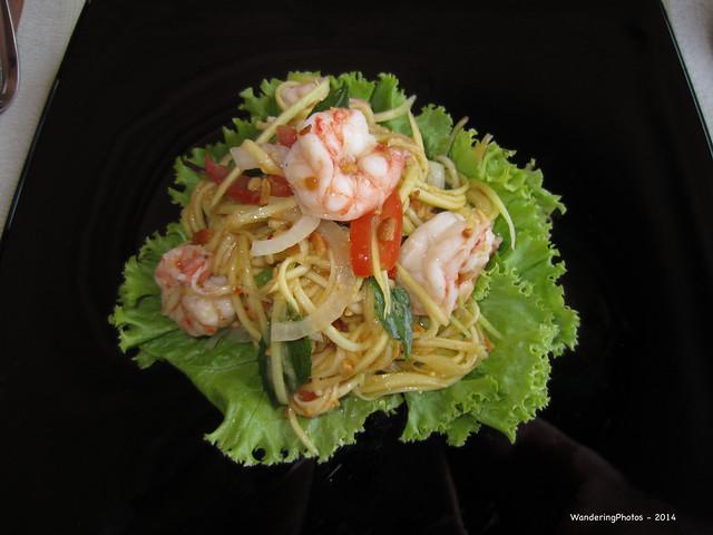 Prawn Noodle Salad, Canon IXUS 220HS