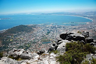 View from Table Mountain in Cape Town | Panorama vom Tafelberg in Kapstadt