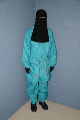 Niqab and Rainwear