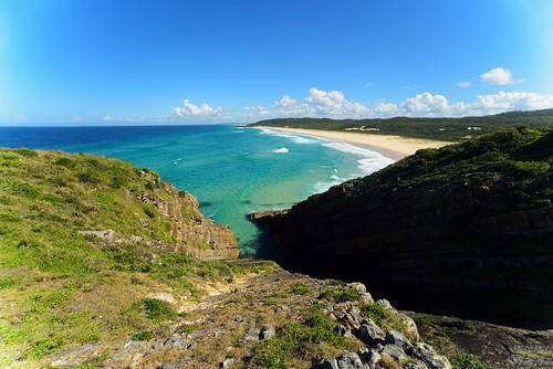 Treachery Beach From Treachery Headland