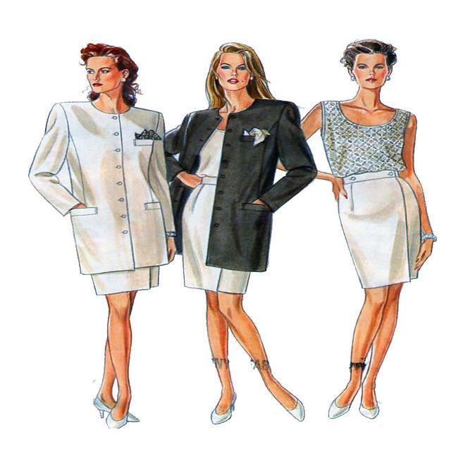 New Look 6567 women suit pattern