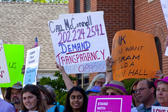Protest Against Congressman Peter Roskam 6th District Illinois Who Voted for Trumpcare 6-20-17 1582