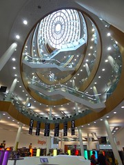 Inside Liverpool central library
