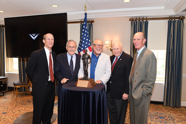 Peter Secchia honored for his support of CVN 78 Commissioning