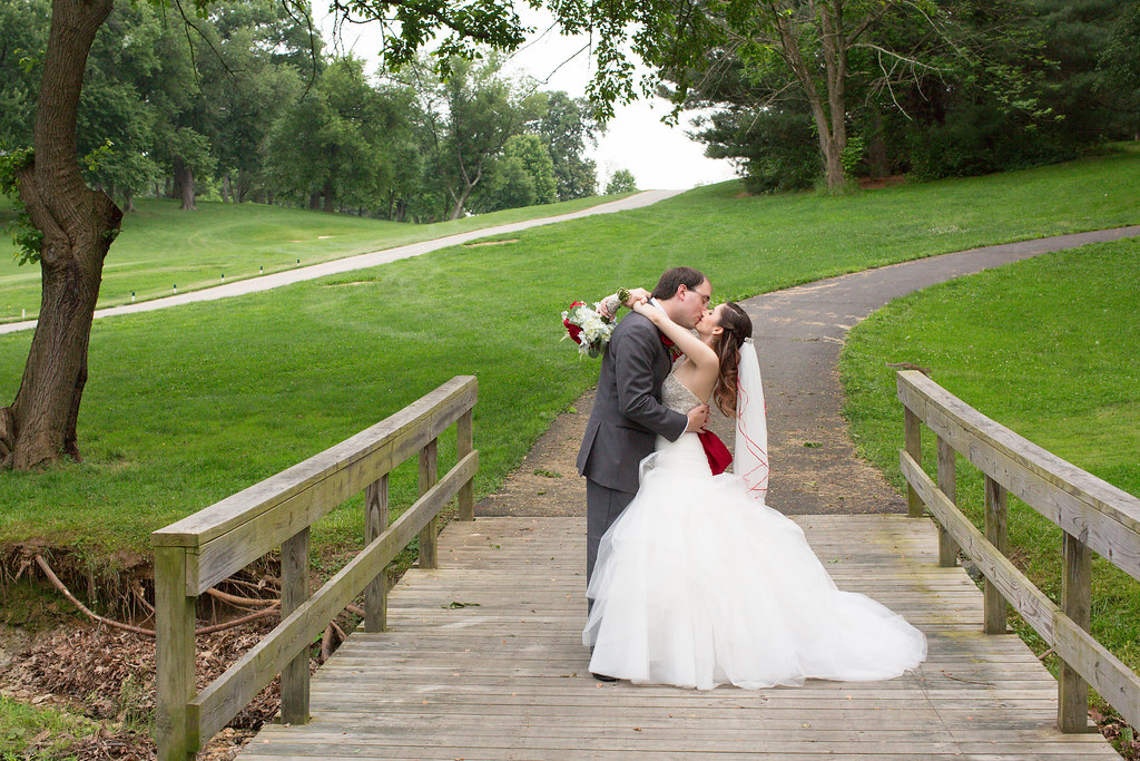 Spring wedding in Virginia.