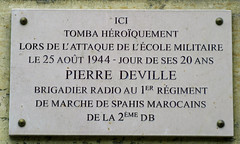 Photo of Marble plaque number 42846