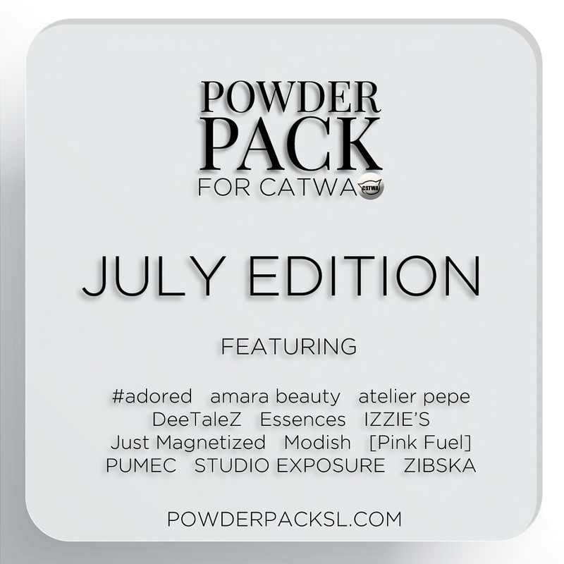 Powder Pack for Catwa | July 2017