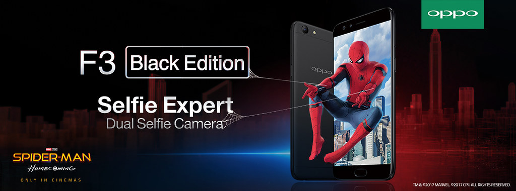 Win Spiderman Homecoming Movie with Oppo