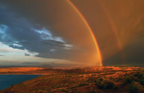 nikon d800 powell lac lake lakepowell arcenciel rainbow coucherdesoleil sunset arizona usa usawest etatsunis usacôteouest