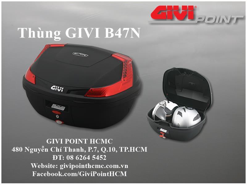 Thung xe Givi - 30
