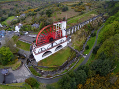 LAXEY WHEEL (LADY ISABELLA), LAXEY, ISLE OF MAN, UNITED KINGDOM.