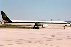 United Parcel Service | McDonnell Douglas DC-8-73CF | N866UP | San Antonio