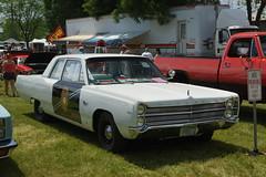 1967 Pymouth Fury I New Mexico State Patrol Car