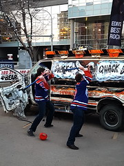 Angry Oilers Fans