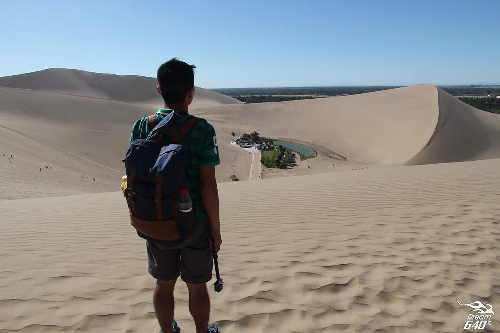 敦煌-鳴沙山月牙泉-沙漠露營-03