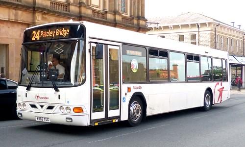 X569 YUG 'Harrogate & District Travel Ltd.' No. 569 Volvo B10BLE / Wright Renown on 'Dennis Basford's railsroadsrunways.blogspot.co.uk