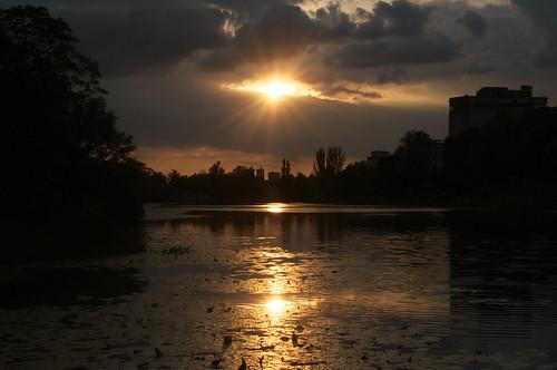 Sunset by Nikon