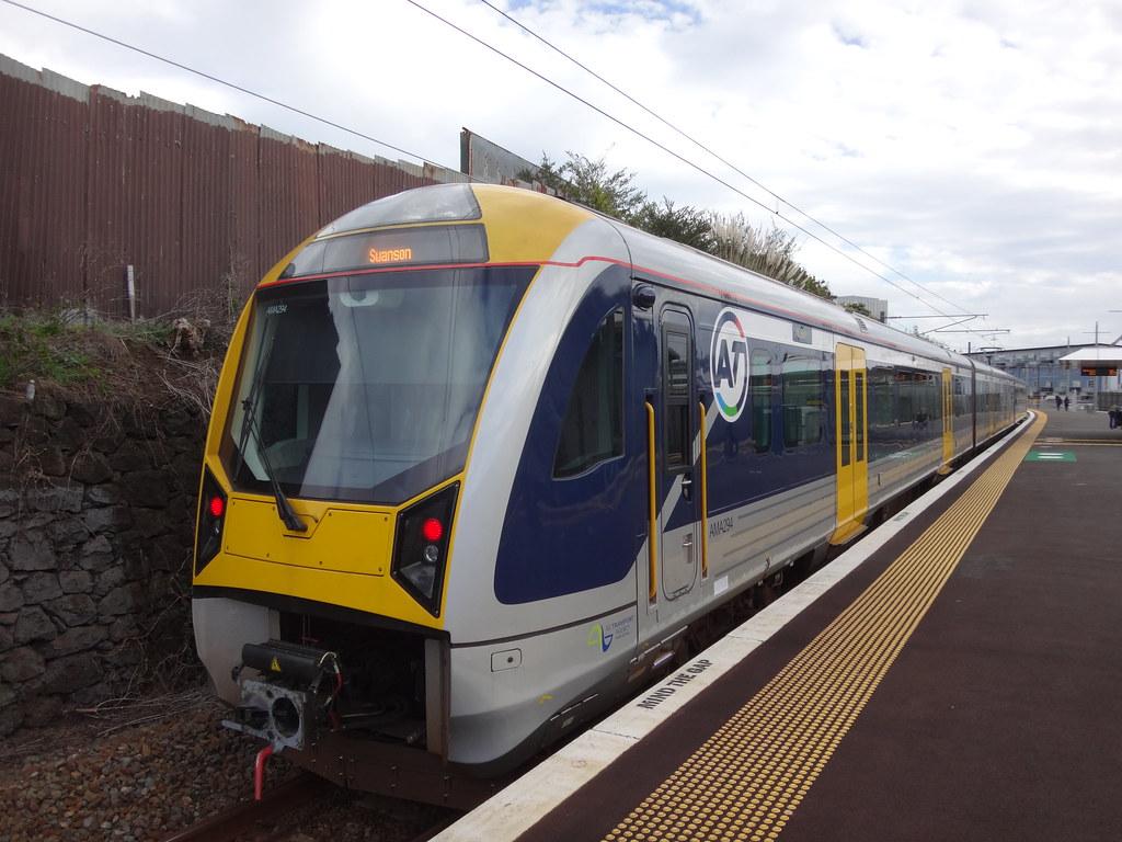 Transdev Auckland AM-class EMU AM 294