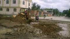La obra municipal avanza en la ciudadela San Rafael
