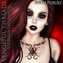 Vengeful Threads - Original Mesh - Arcana Necklace VIP Color Edition