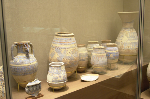 Blue Painted Ware from Malkata