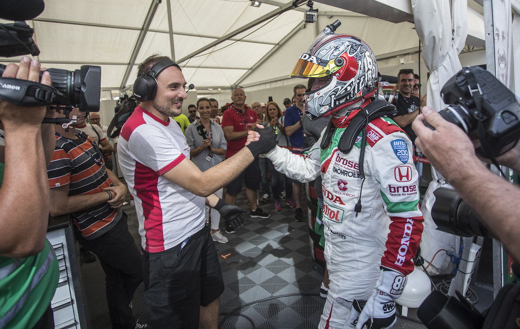 MONTEIRO Tiago (prt) Honda Civic team Castrol Honda WTC ambiance portrait during the 2017 FIA WTCC World Touring Car Championship race of Portugal, Vila Real from june 23 to 25 - Photo Gregory Lenormand / DPPI