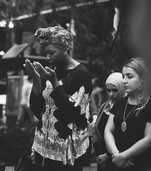Vigil for Philando Castile, Nabra Hassanen and Charleena Lyles in Chicago. PC: Sehar Sufi