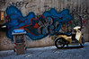 sur les murs de Naples
