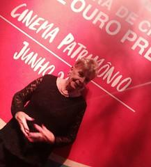 Alice Gonzaga na noite de abertura da 12a CineOP, em Ouro Preto.  #blogauroradecinemaregistra  #alicegonzaga #cineop #cool #cinema #cinemabrasileiro #desarquivandoalicegonzaga