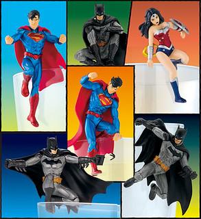 連超級英雄也爬上杯緣了!!奇譚俱樂部 PUTITTO 系列【正義聯盟】Justice League ジャスティス・リーグ