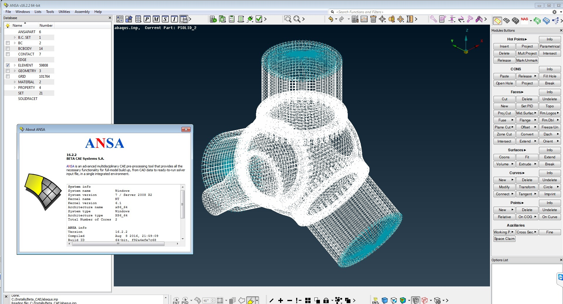 download BETA CAE Systems v16.2.2 x64 full license working forever