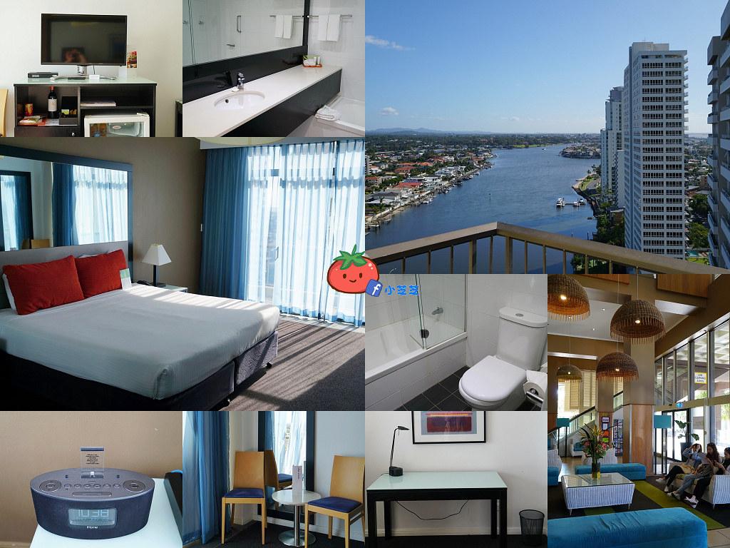 【黃金海岸住宿】平價Vibe Hotel Gold Coast 近衝浪者天堂市區交通方便