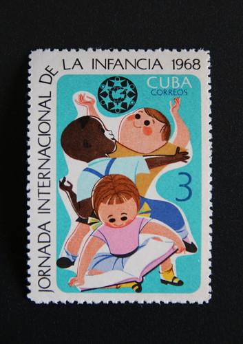 キューバの切手とザブランスキー