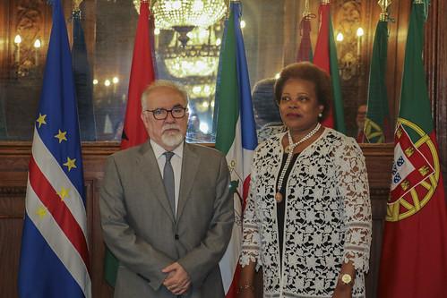 Secretária Executiva recebe Ministro do Trabalho de Portugal