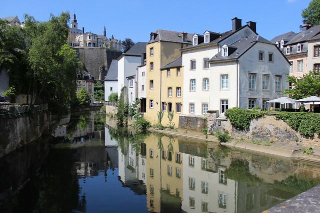 In Luxemburg Stadt an der Alzette