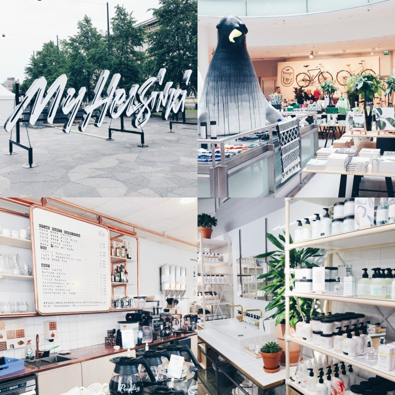 Helsinki cafes and shopping