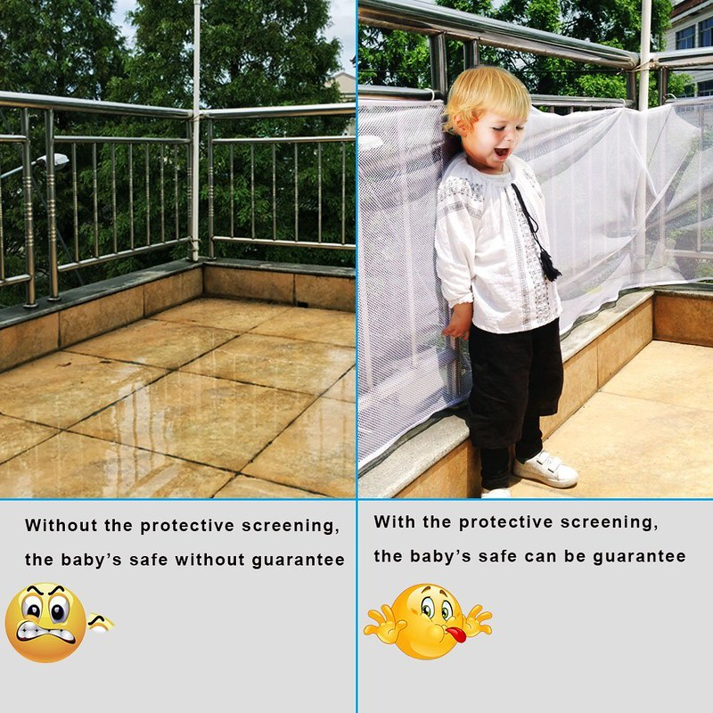Baby Children Kids Fencing Protect Balcony Staircase