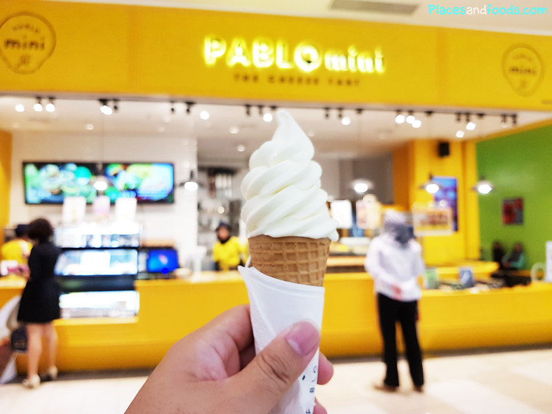 pablo cheese tart soft serve