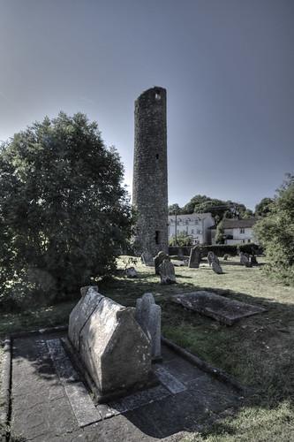 Clones Round Tower and Saint Tiernach's Shrine