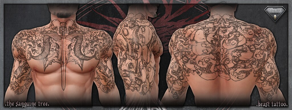 [ new release - aesthetic beast tattoo ] - SecondLifeHub.com