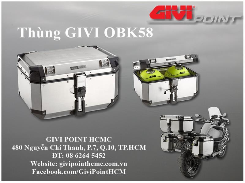 Thung xe Givi - 25