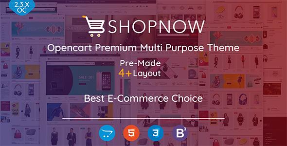 Shopnow v1.0 - Premium Multi Purpose Theme