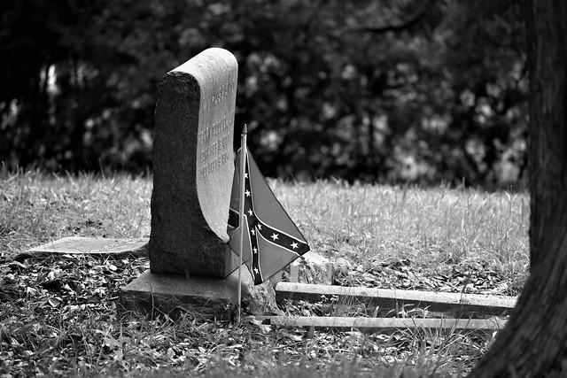 Historic Blandford Cemetery, Petersburg, Virginia, USA.