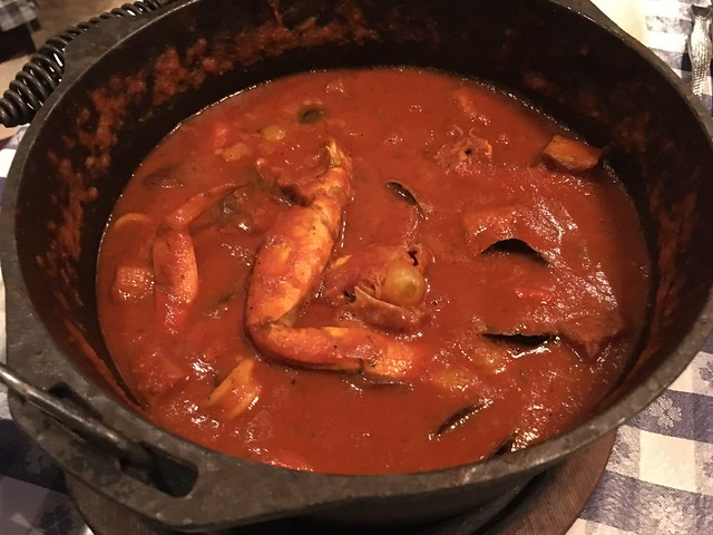 The original clam bake cioppino - The Old Clam House