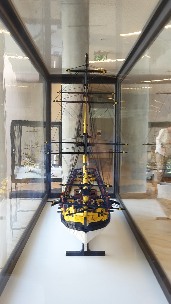 HMS Ontario på M/S Museet for Søfart  Bov