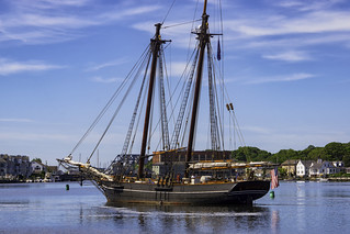 The Amistad Departs Mystic