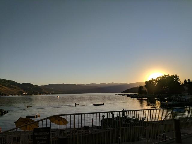 Chelan - Evening View