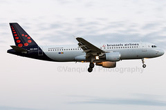 OO-SNH Brussels Airlines A320-200 London Heathrow