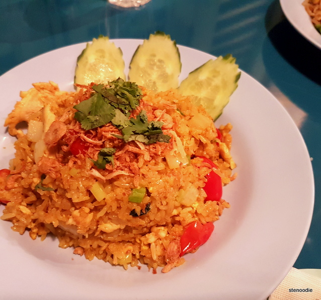 Yellow Curry Fried Rice with Coconut