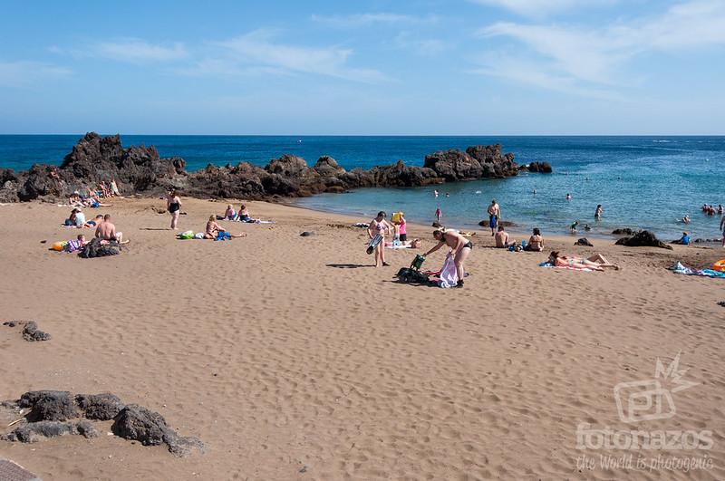 Playa Chica en Puerto del Carmen